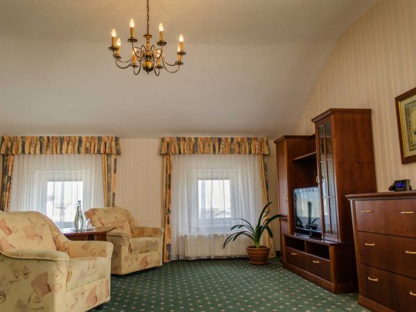 Doppel- und Einzelzimmer